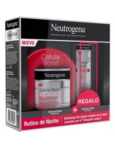 Neutrogena Pack Cellular Boost Crema de Noche, 50 ml + Regalo Cellular Boost Contorno de Ojos, 15 ml