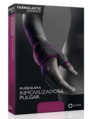 Farmalastic Advance Muñequera Inmovilizadora Pulgar, Talla 1