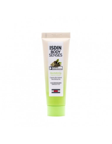 Isdin BodySenses Crema de Manos Revitalizante Té Matcha Japonés, 30 ml