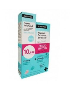 Suavinex Crema del Pañal, 75 ml + Pomada Intensiva del Pañal, 75 ml
