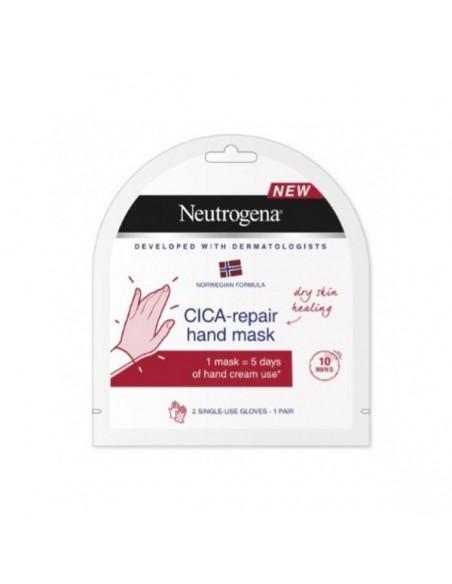 Neutrogena Cica-Repair Máscara de Manos, 2 guantes