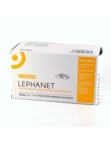 Lephanet Toallitas limpiadoras, 30Ud + Regalo 12Ud