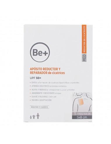 Be+ Apósito Reductor y Reparador de Cicatrices UPF50+ 5 X 8 cm 5 UD