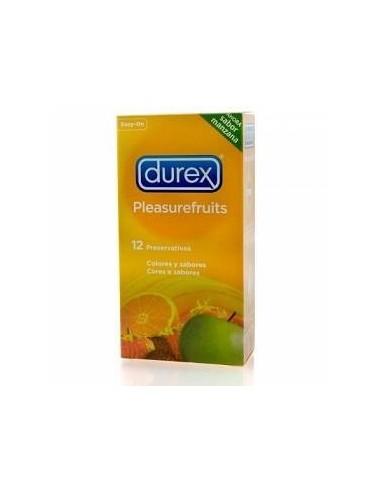 Durex Preservativos PleasureFruits Easy On, 12Ud