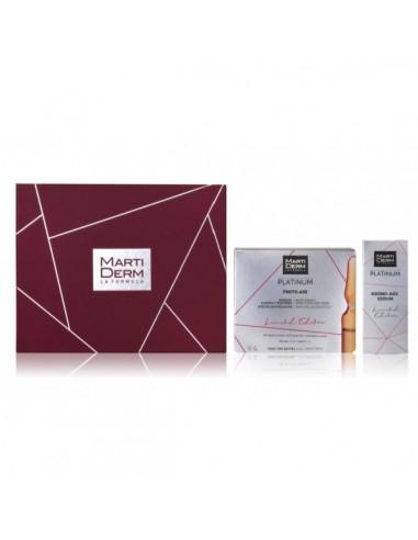 Martiderm Pack Platinum Photo - Age, 30 ampollas + Regalo Martiderm Platinum Krono - Age Serum, 15 ml