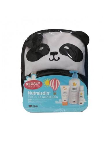 Isdin Baby Nutraisdin Pack Guarderia + Regalo Mochila Panda