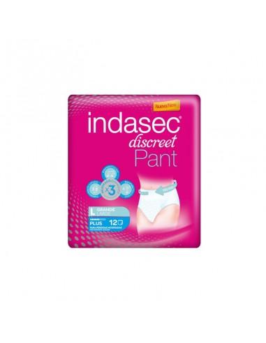 Indasec Discreet Pant Plus Talla Grande, 12 Uds
