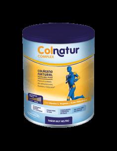 Colnatur complex Colágeno Magnesio, Vitamina C y Acido Hialuronico sabor Neutro, 330g