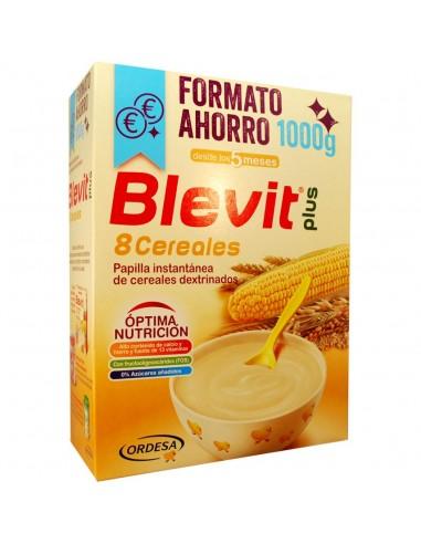 Ordesa Blevit Plus 8 Cereales Formato Ahorro, 1000g