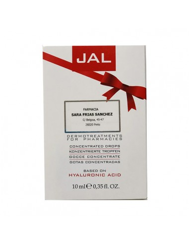 Vital Plus JAL Gotas Concentradas Tratamiento Hidratante Cara con Acido Hialurónico, 10 ml