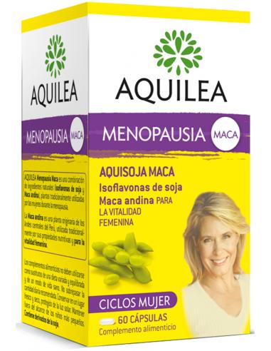 Aquilea Menopausia Aquisoja Maca, 60 Cápsulas