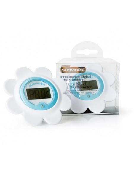 Suavinex Termómetro digital baño y ambiente, 1Ud