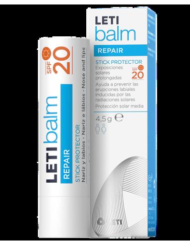 Letibalm Stick Protect SPF20 Barra labial, 4g