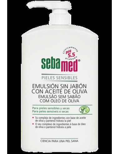Sebamed Emulsión con Aceite de Oliva, 1000ml