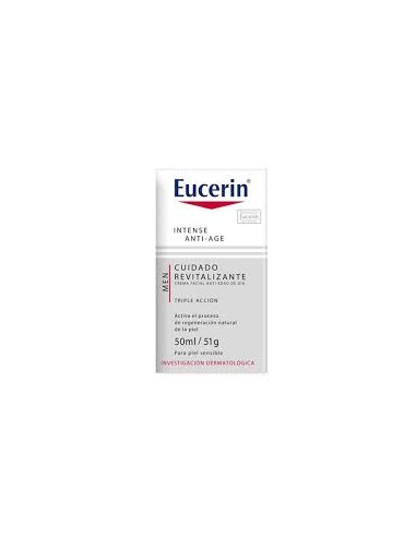 Eucerin Men Intense Anti-Age Crema Facial, 50ml