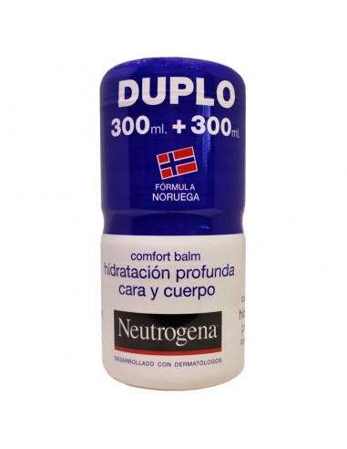 Neutrogena Duplo Comfort Balm Hidratante Corporal, 2x 300ml