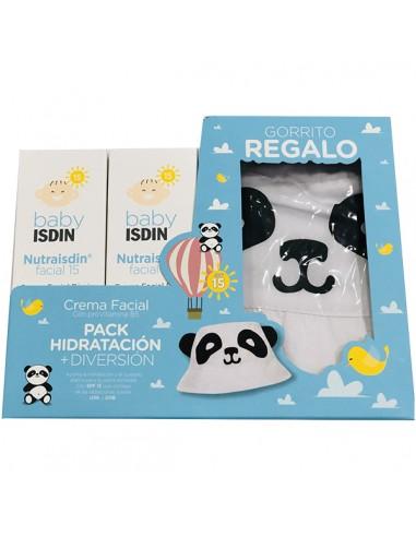 Isdin Baby Pack Nutraisdin Facial SPF15, 2 x 50 ml + Regalo Gorro