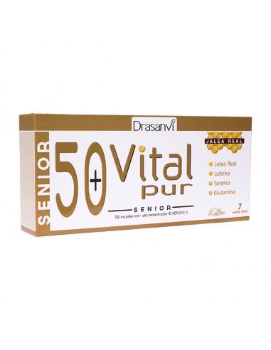 Drasanvi VitalPur Jalea Real Senior 50+, 7 viales