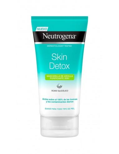 Neutrogena Skin Detox Mascarilla de Arcilla Purificante, 150 ml
