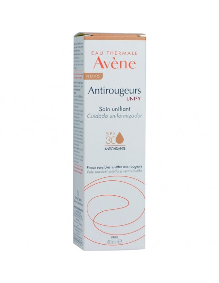 Avene Antirrojeces Unify Cuidado Unificador SPF30, 40 ml