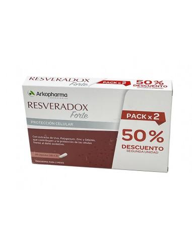 Resveradox Forte, Pack 2 x 30 Cápsulas