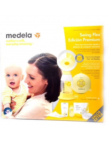 Medela Sacaleches Swing Flex Edición Premium