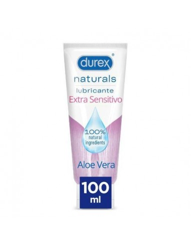 Durex Naturals Lubricante Extra Sensitivo, 100 ml