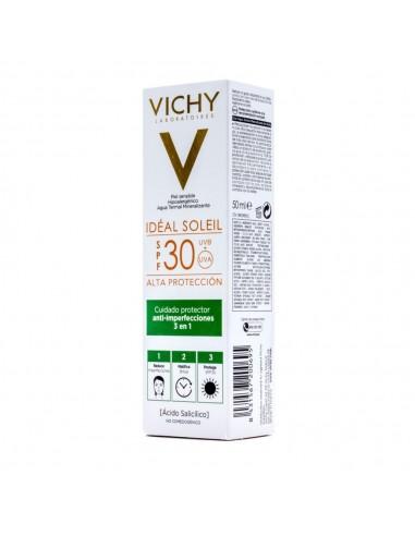 Vichy Ideal Soleil Cuidado Anti- imperfecciones  SPF30, 50ml