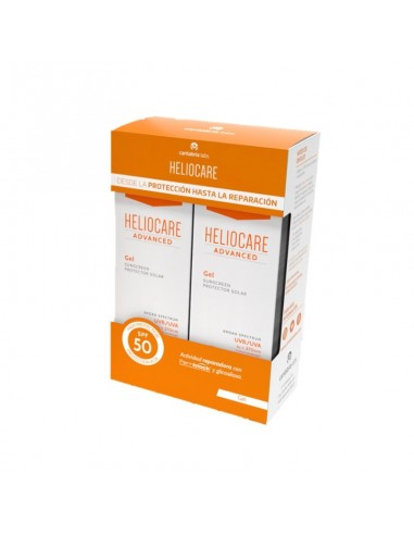 Pack Heliocare Advance Gel SPF50 , 2 x 200 ml