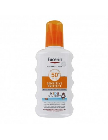 Eucerin Sun Sensitive Spray Solar Ninos SPF50+, 200 ml
