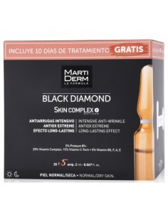 Martiderm Black Diamond Skin complex, 30 amp + 10 Días de Tratamiento Gratis