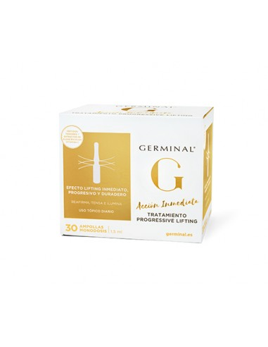Germinal Tratamiento Progressive Lifting , 30 ampollas
