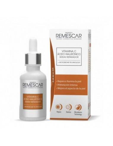 Remescar Vitamina C & Ácido Hialurónico Serum Reparador, 30 ml