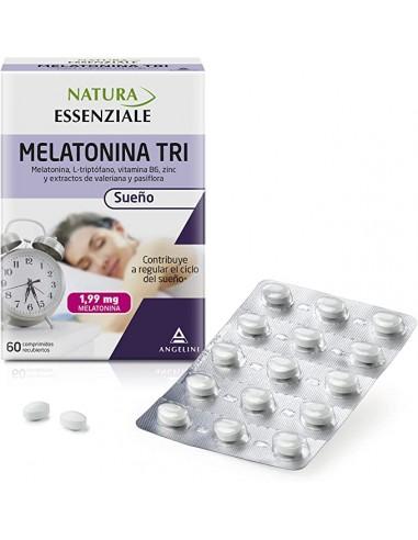 Soñodina Melatonina Tri, 60 Comprimidos recubiertos