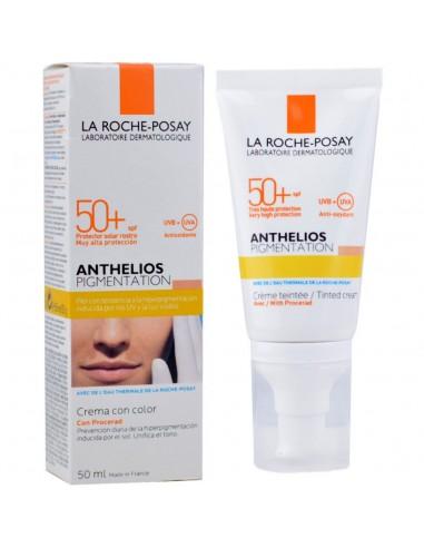 La Roche Posay Anthelios Pigmentación Crema con Color SPF50+, 50ml