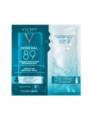 Vichy Mineral 89 Mascarilla Fortificante & Reconstituyente , 1 ud