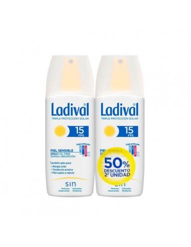 Pack Ladival Spray Piel Sensible, 2x 150 ml