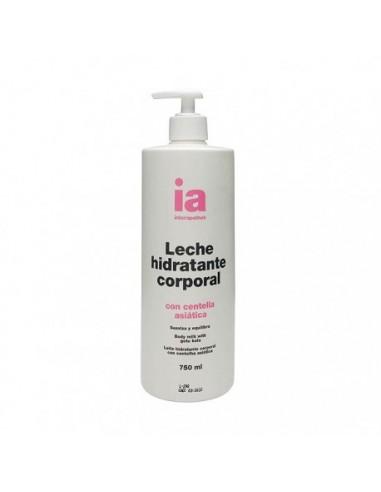 Interapothek Leche Hidratante Corporal con Centella Asiática , 750 ml