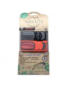 Parakito Pulsera Sport Antimosquitos + Pulsera Gratis