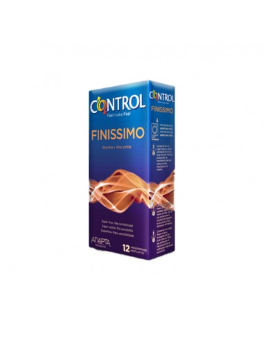 Control Preservativos Finissimo, 12 Ud