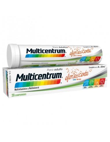 Multicentrum con Luteína Efervescente, 20 Comprimidos