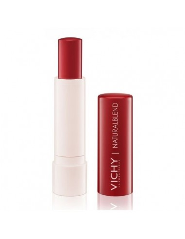 Vichy Naturalblend Bálsamo Labial Color Rojo