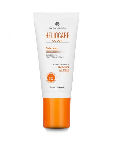 Heliocare Gelcream Color Brown SPF 50, 50ml