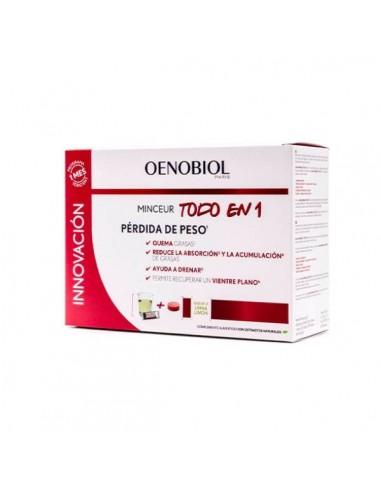 Oenobiol Mineceur Todo en 1 30 Sticks + 60 Comprimidos