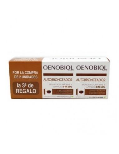 Oenobiol Autobronceador , 3 x 30 cápsulas