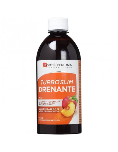 Forté Pharma Turboslim Drenante Melocotón, 500ml