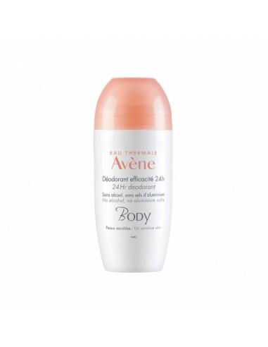 Avene Desodorante Eficacia 24 horas Roll - On ,50 ml