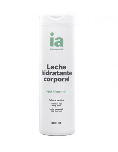 Interapothek Leche Hidratante Corporal Spa Thermal, 400 ml