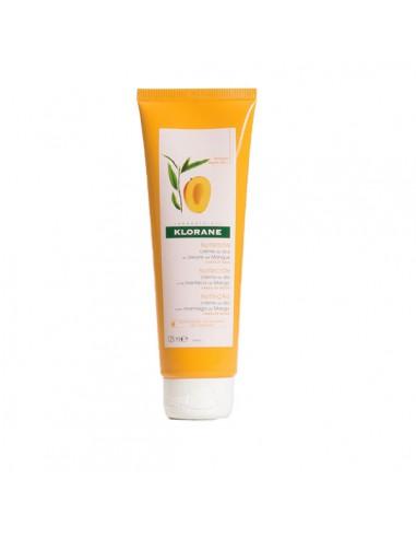 Klorane Crema de Dia Capilar sin Aclarado a la Manteca de Mango, 125ml