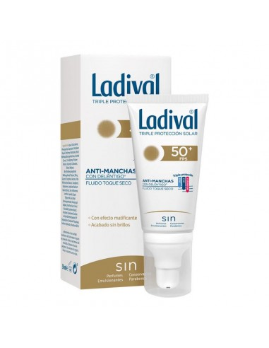 Ladival Fotoprotector fluido toque seco Anti manchas, 50ml